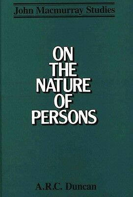 On the Nature of Persons by A.R.C. Duncan Hardcover Book (English)
