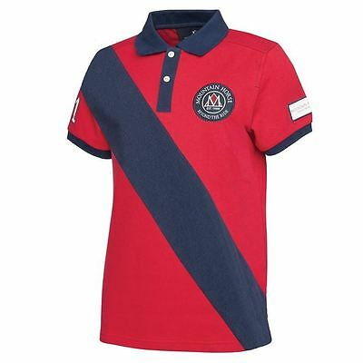 Mountain Horse Mens Charlie Pique Polo Shirt Riding Short Sleeve Robinsons New