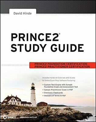 PRINCE2 Study Guide by Hinde, David Book The Cheap Fast Free Post