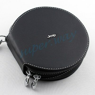 Portable CD DVD Discs Holder Case Bag Wallet Storage Pocket For Jeep Accessories