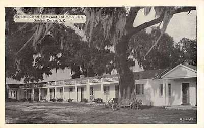 Gardens Corner South Carolina Gardens Corner Motor Court vintage pc Z21524
