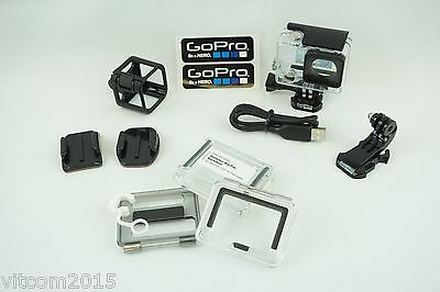 GoPro Used Dive Housing Case for Hero ( 4/ 3/ 3+) with Extras #Io7