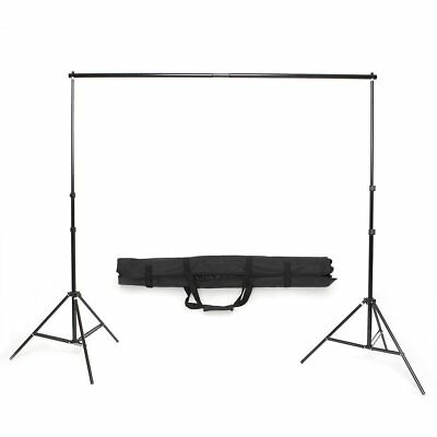 2 x 3M Kit Photo Support Stand de Fond Photo Studio Trépied + Sac Nouveau