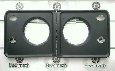Land Rover Defender 90, 110, Light Surrounds, None Vented Earlier Type, Black
