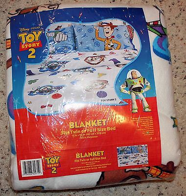Toy Story Twin or Full Size BLANKET!