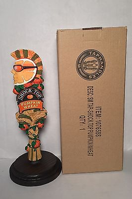 """Shock Top Pumpkin Wheat Beer Tap Handle 8"""" Tall - Brand New In Box"""