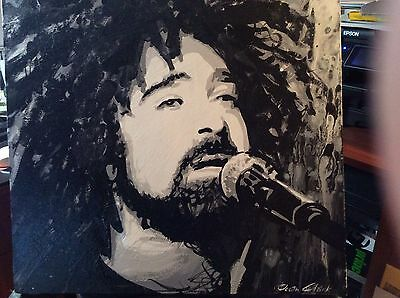 Adam Duritz of the Counting Crows Original Painting On Canvas