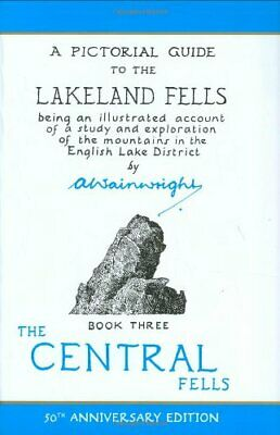 A Pictorial Guide to the Lakeland Fells, Book 3... by Alfred Wainwright Hardback