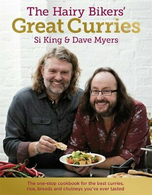 The Hairy Bikers' Great Curries by Bikers, Hairy Book The Cheap Fast Free Post