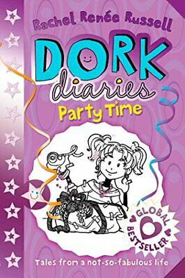 Dork Diaries: Party Time by Russell, Rachel Renee Book The Cheap Fast Free Post