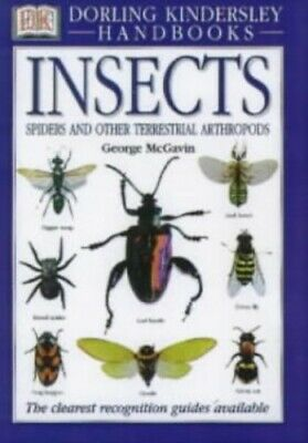 Insects (DK Handbooks) by McGavin, George C Hardback Book The Cheap Fast Free