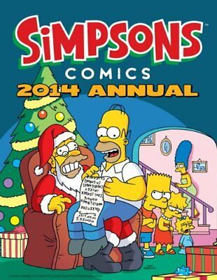 Simpsons - Annual 2014 (Annuals) by Matt Groening Book The Cheap Fast Free Post