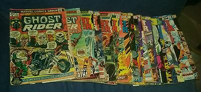 Ghost rider 23 issue bronze age comics lot vol 1 run set movie collection marvel