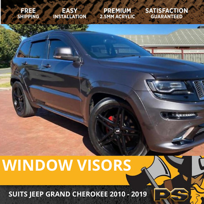 Superior Weather Shields Window Visor Jeep Grand Cherokee WK 10-17 Weathershield