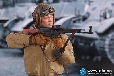 1/6 DID US 2nd Armored Division Hell on Wheels FURY SSGT Donald Brad Pitt Figure