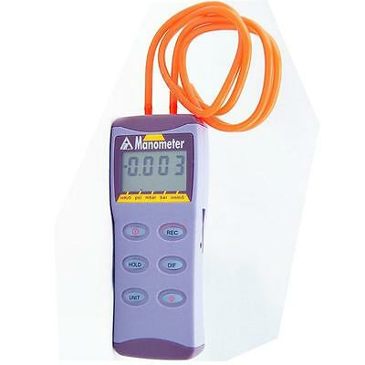 Digital Manometer Differential Air Pressure Meter Gauge