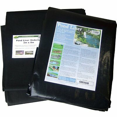 Pond Liner 4x3m with 40yr Guarantee and FREE Underlay