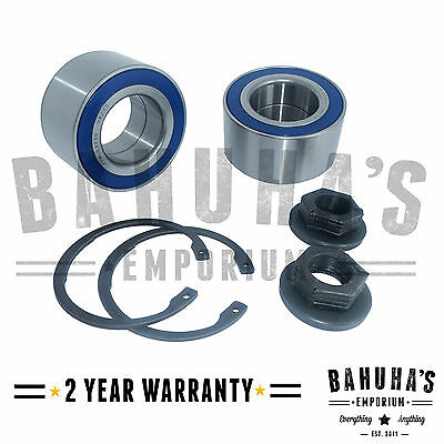 X2 FRONT WHEEL BEARING KIT PAIR FOR A FORD FOCUS Mk1 1998 2005 *NEW*