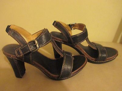 603a6818a15 SONOMA JANIS Black Strappy Heels Women's US 8 M Sandals Kohl's Shoes ...