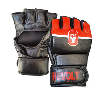 MMA Grappling Gloves R&W Leather