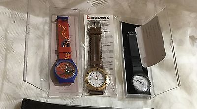 ON SALE THIS WEEK! Collectable Qantas Watches, All New, New Batteries!