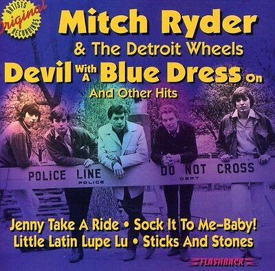 Mitch Ryder, Mitch R - Devil with a Blue Dress on & Other Hits [New CD]