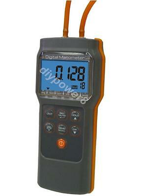 Digital Manometer 6 Psi Economic Pressure Gauge Differential Pressure Meter
