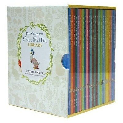 The Complete Peter Rabbit Library - 23 Book Box Set [Hardcover, Beatrix Potter]