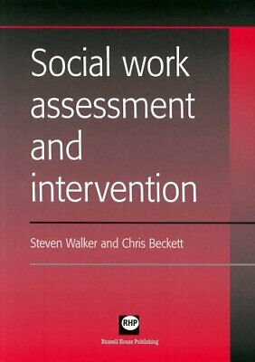 Social Work Assessment and Intervention by Chris Beckett Paperback Book The