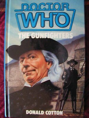 Doctor Who-The Gunfighters, Cotton, Donald Hardback Book The Cheap Fast Free
