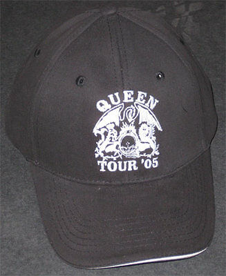 Queen - RARE - Original 2005 World Tour Hat/Cap Embroidered Flexfit NEW rock pop