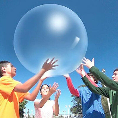 Children Kid's Amazing Toy WUBBLE Bubble Ball Inflatable Ball Bounce Bubble Ball