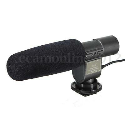 SG-108 Stereo Shotgun Microphone For Canon 5D III II 7D 550D 600D 60D Camcorder