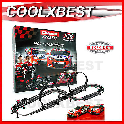 NEW CARRERA GO HOLDEN HRT CHAMPIONS SLOT CAR SET Courtney v Tander V8 SUPERCARS