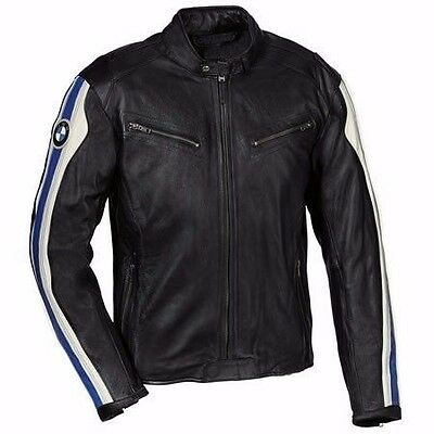 BMW Motorbike Leather Jacket Motorcycle Rider Leather Jacket Racing Xs-4xl