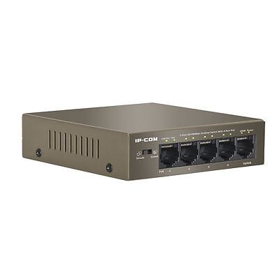 Ip-Com Ip-F1105P 5 Port Desktop Fast Ethernet Unmanaged Switch With 4 Ports Poe