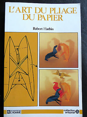 L'art du pliage du papier, Robert Harbin, 1980