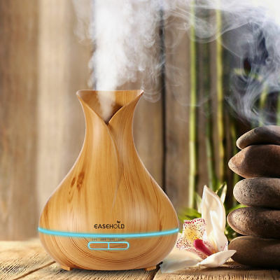 Easehold New Ultrasonic Humidifier Atomizer Oil Aroma Diffuser Air Mist Purifier