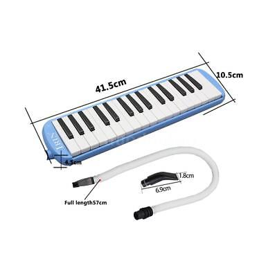 32 Piano Keys Melodica for Music Lovers Beginners Gift with Bag Blue U5O5