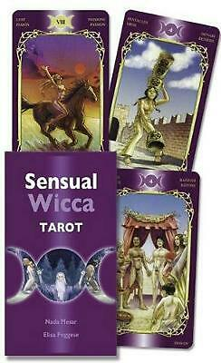 Sensual Wicca Tarot by Lo Scarabeo (English) Paperback Book Free Shipping!