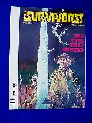 The Survivors vol 2 The Eyes That Burned, Herman.1st edn. (1982). Fantagraphics,