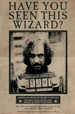 Harry Potter Wanted Sirius Black Poster 61x91.5cm