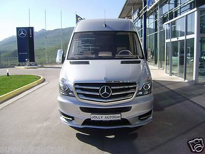 Grid Grille Chromed Stainless Steel ( 7 Pieces) For Mercedes Sprinter W906 2014