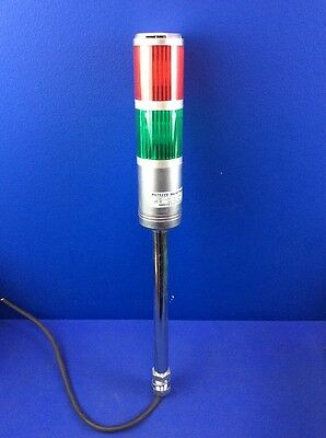 Patlite St-V Safety Stack Signal Tower Light Red & Green