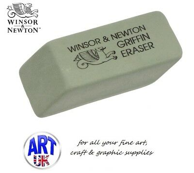 Winsor & Newton GRIFFIN Eraser/Rubber Artists Graphite Charcoal Drawing Pencil