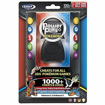 Datel 3DS Action Replay Power Play Game Saves Cheats for Pokemon X & Y