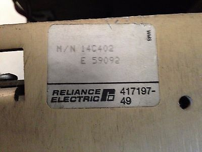 Reliance Electric Flex Pak Drive 14C402