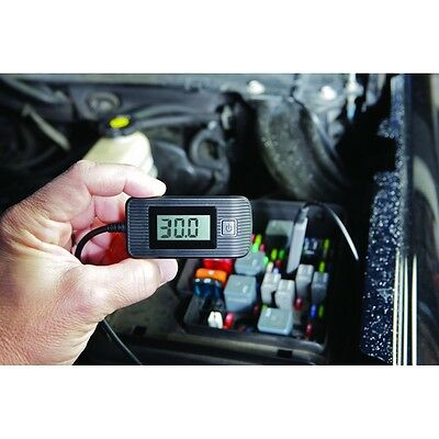 30 Amp Automotive Fuse Circuit Tester with test leads and auto shut off