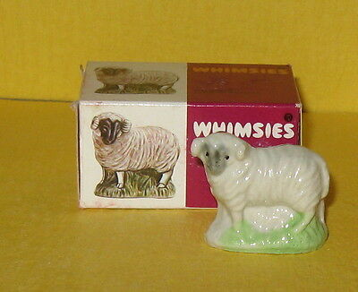 Mint w/box Wade England English Whimsies Set 8 #40 The Ram ~ 1977
