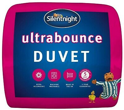 Silentnight Ultra Bounce Duvet / Quilt - 10.5 Tog - Single Double or King